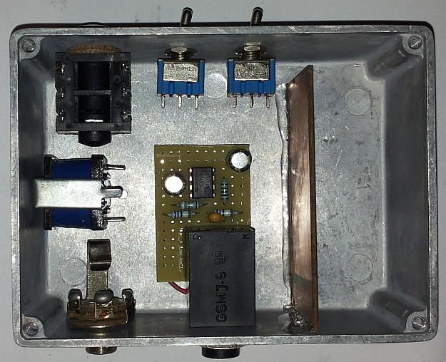 DAW-AMP - wszystkie elementy bez kabelków ;)