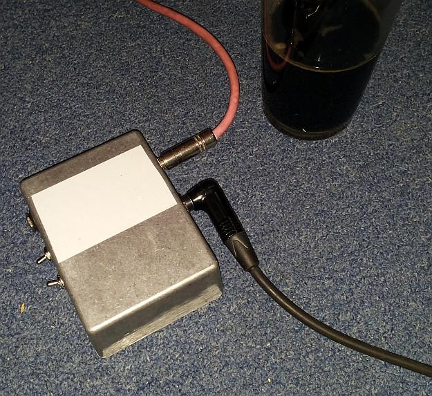 Pierwsze, domowe testy prototypu